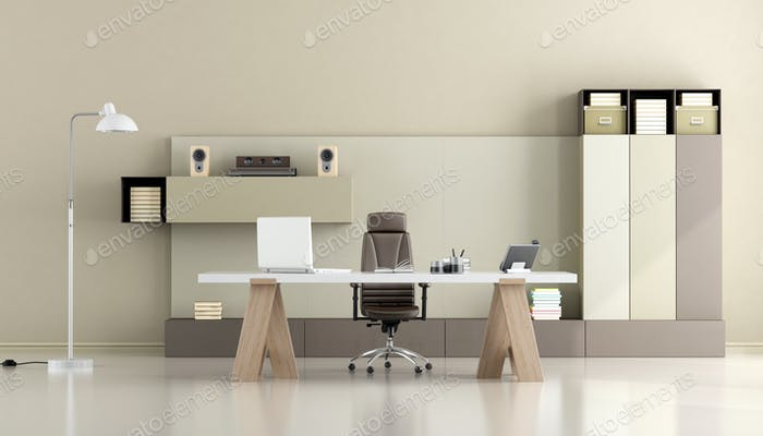 Thumbnail for Minimalist modern office