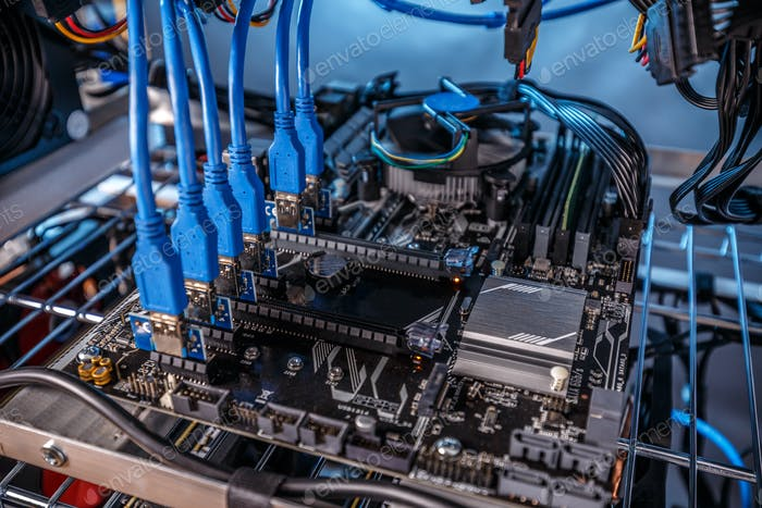 Details of mining rig