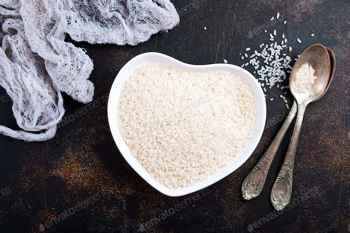 roher Reis