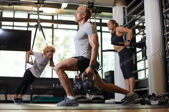здоровый образ жизни в спортзале