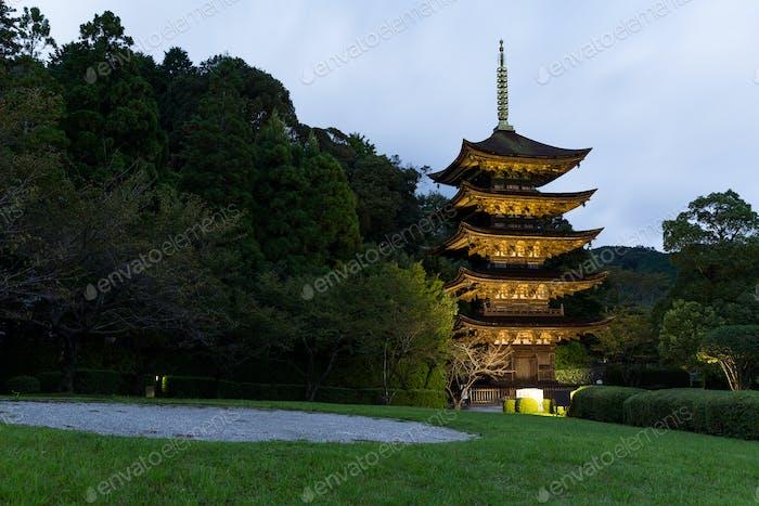 Rurikoji temple in Japan