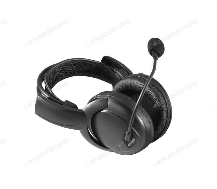 Pair of Headphones isolated