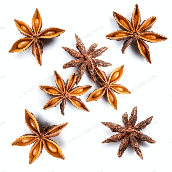 Set of star anise