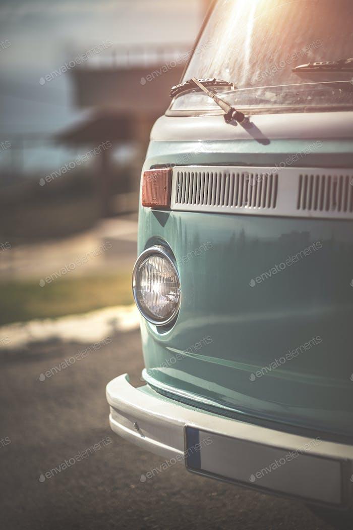 Seltener Vintage-Wohnmobil