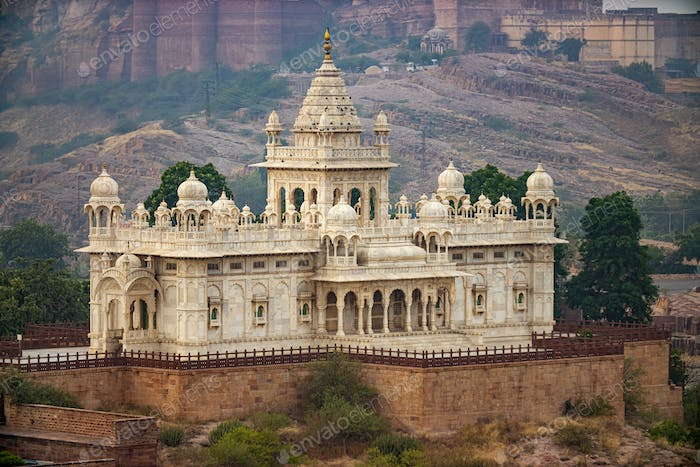 Jaswant Thada is a cenotaph located in Jodhpur, in the Indian state of Rajasthan.