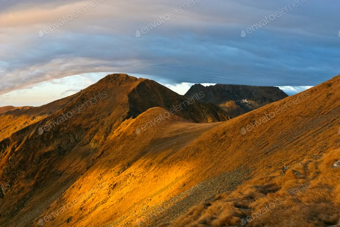 Sonnenaufgang Berg