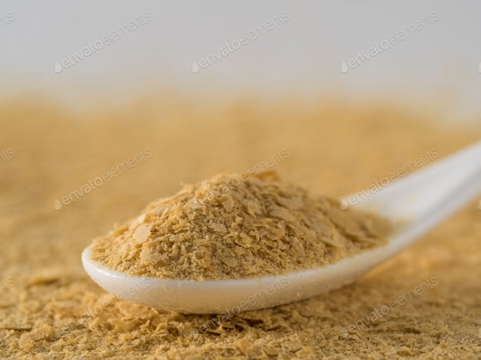 Nutritional inactive yeast