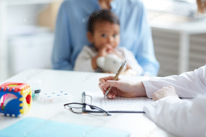 Kinderarzt schreiben Rezept