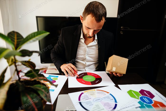 product marketing manager making marketing strategy for new product