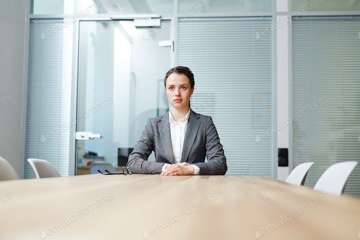 Esperando la entrevista