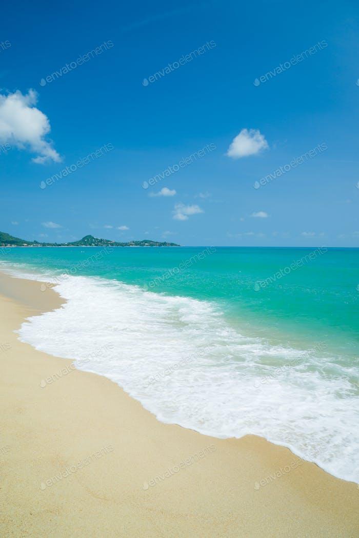 playa koh Samui y mar tropical