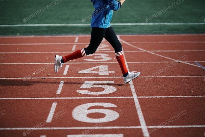 Energetic run