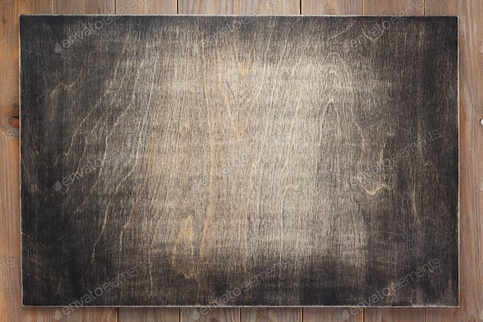 sign board and wooden background texture