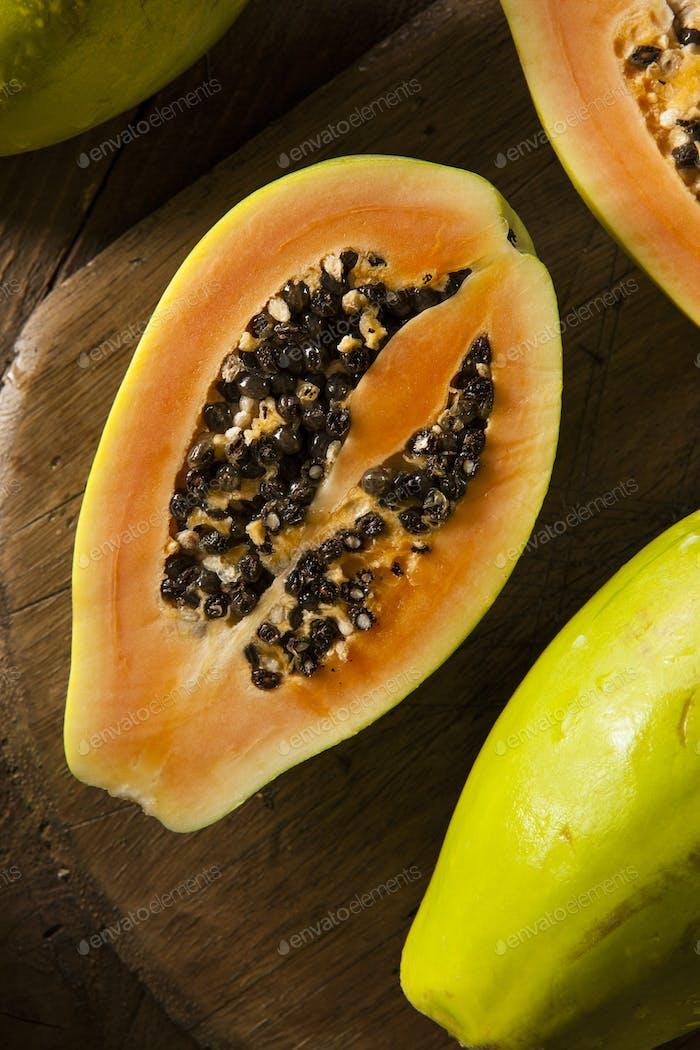 Raw Organic Green Papaya