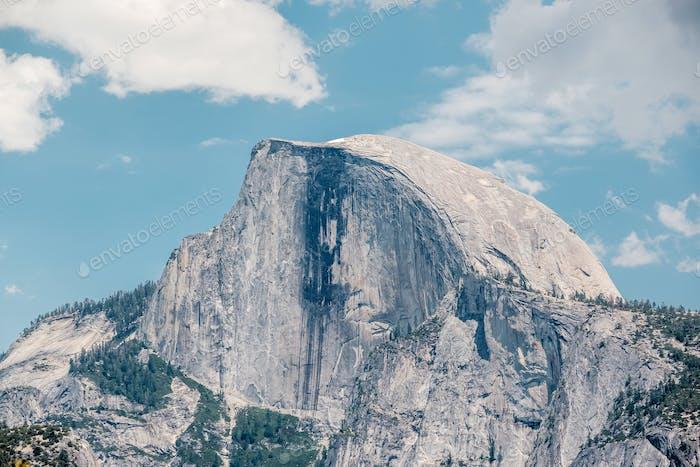 Half Dome Felsformation im Yosemite Nationalpark