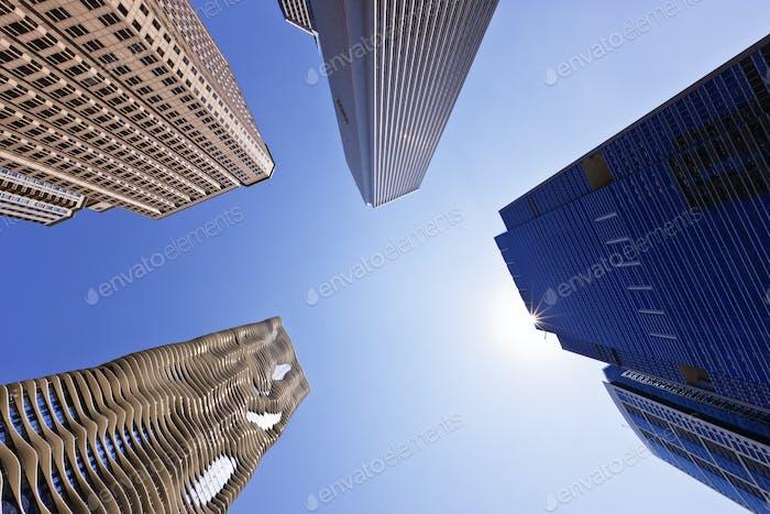 Chicago Wolkenkratzer