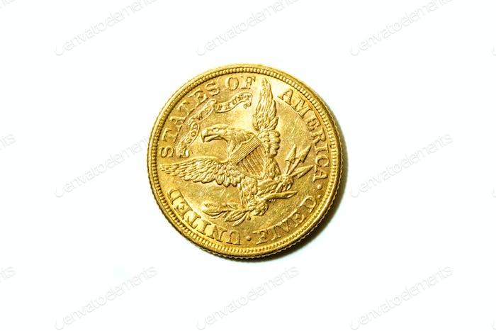 Moneda de oro americano