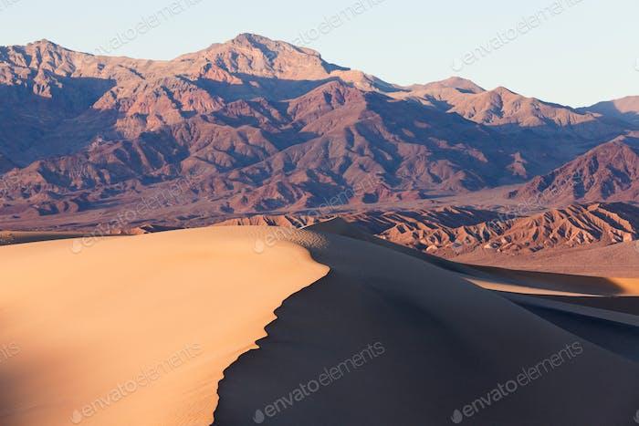 Mesquite Sand Dunes Death Valley NP CA US