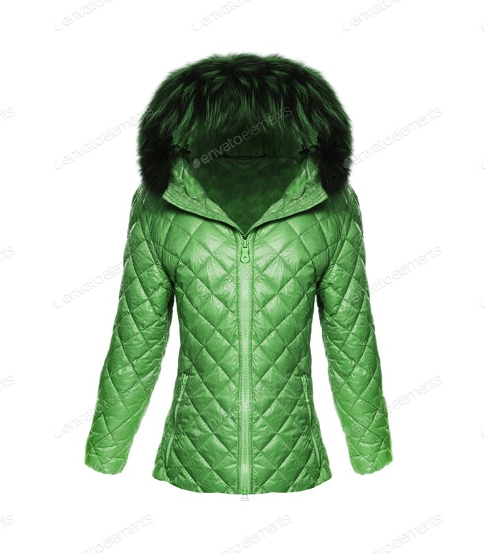 Jacket Female isolated