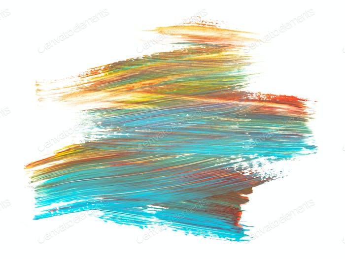 multicolor paint brush texture