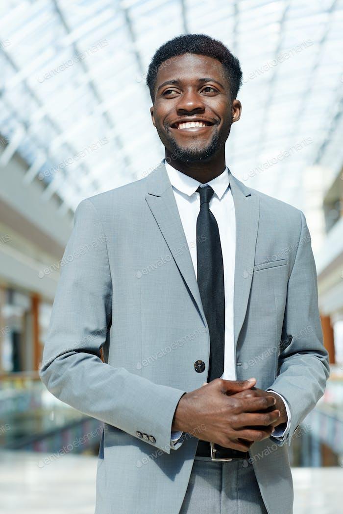 Hombre de Empresario sonriente