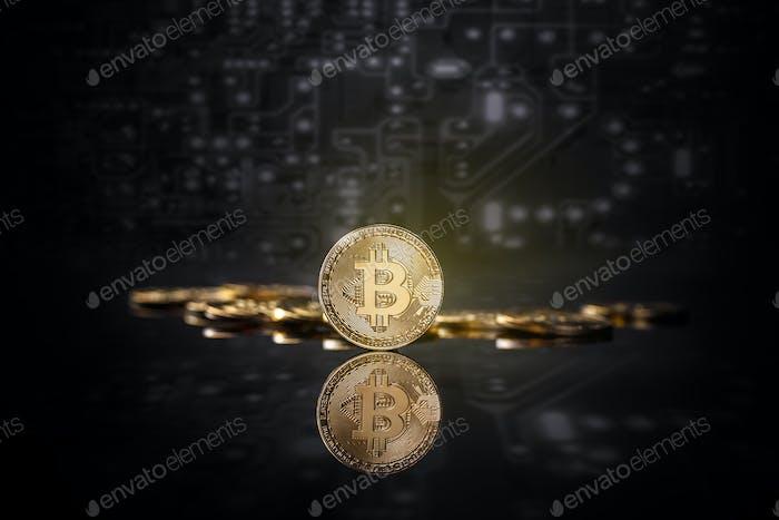Virtual money concept