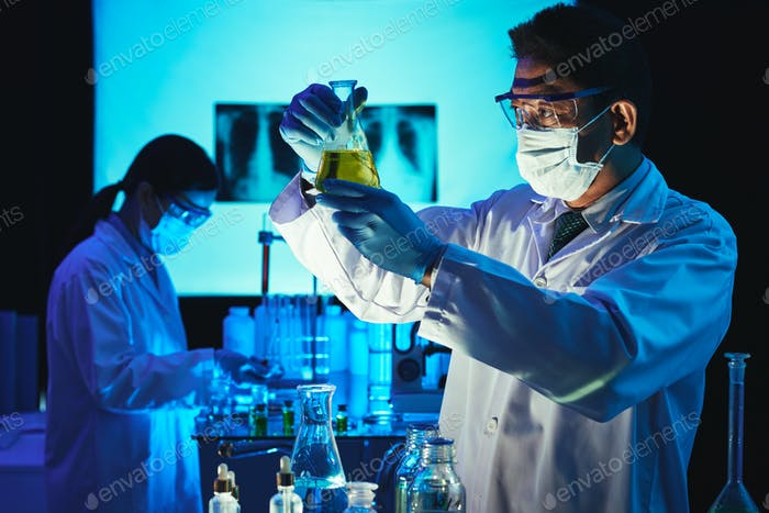 Conducting scientific experiment