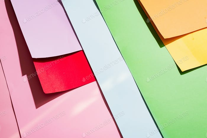 photo shot of multicolored background