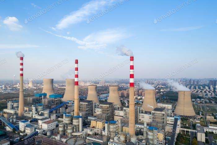 modernes Großthermalkraftwerk