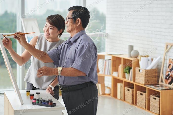Pintar juntos