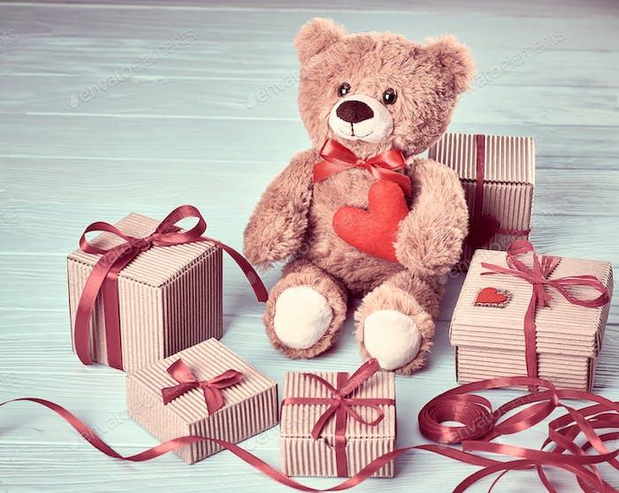 Teddybär, Geschenke