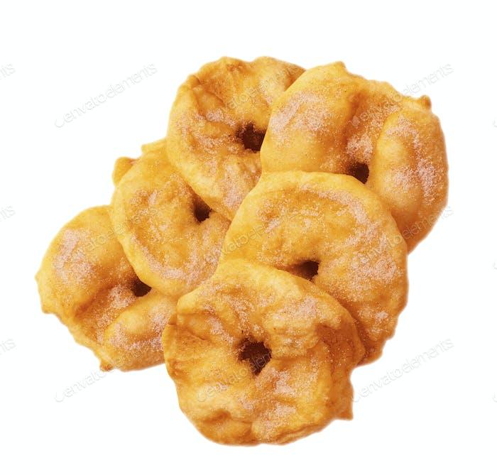 Sugar glazed doughnuts