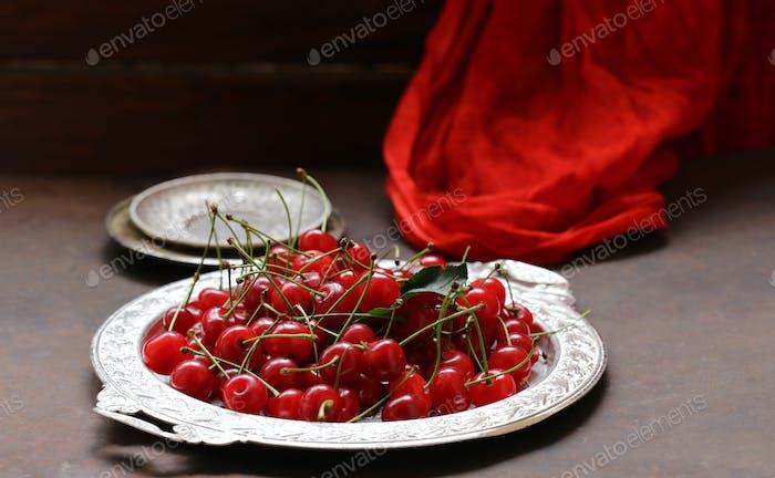 Ripe Organic Cherry