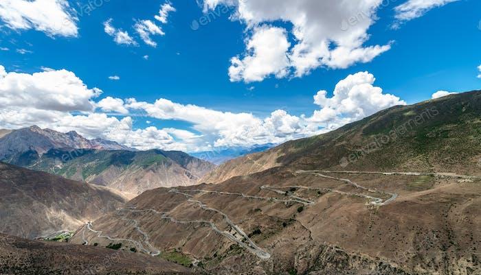 tibet scenery