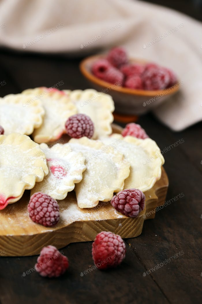 Dumplings with Berries