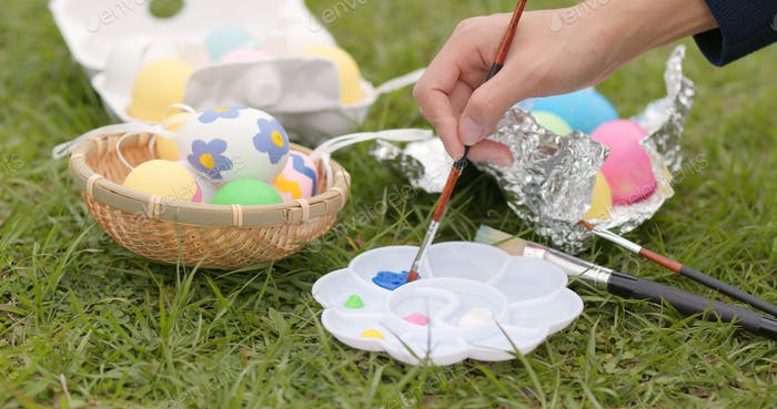 Colorful Easter holiday
