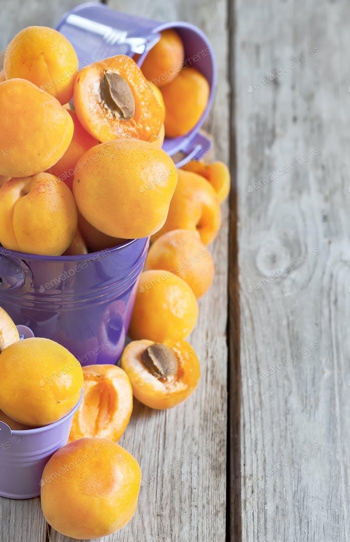 Aprikosen-Hintergrund