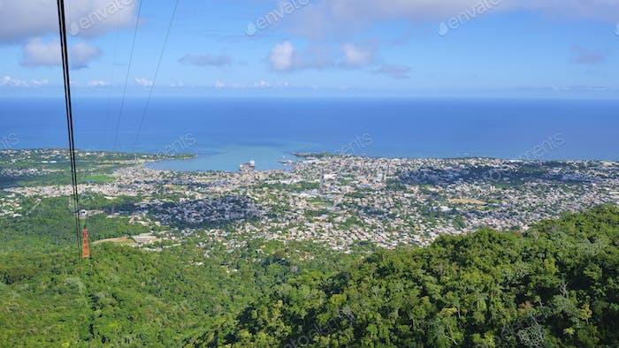 Puerto Plata Aerial View