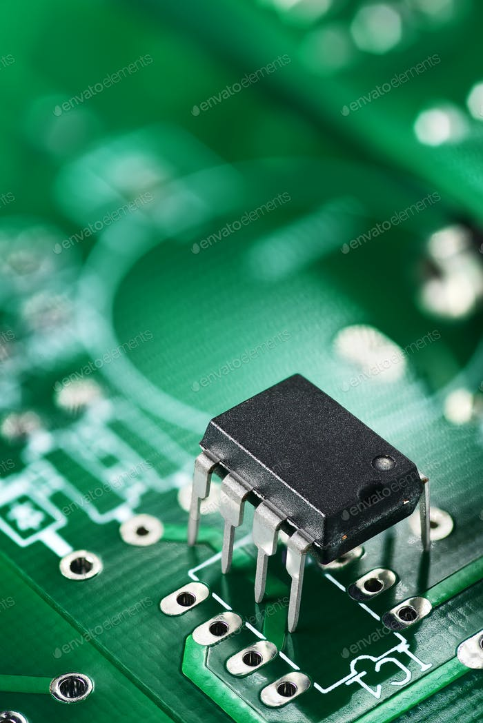 Integrated circuit on PCB