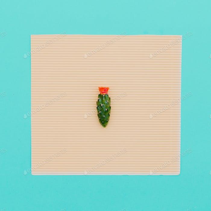 Mini Cactus Minimal art detail