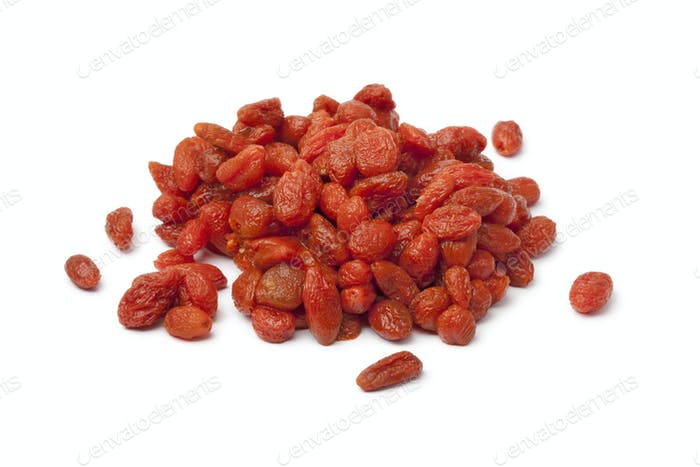 Soaked Goji berries