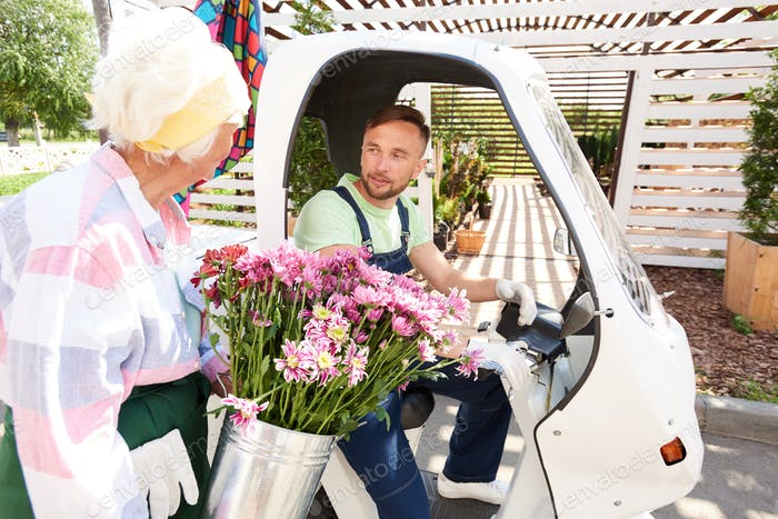 Flower Delivery Service