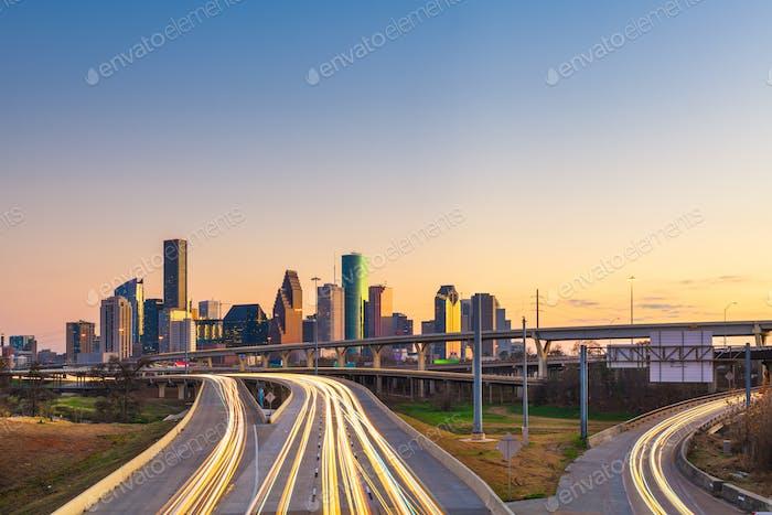 Houston, Texas, USA City Skyline