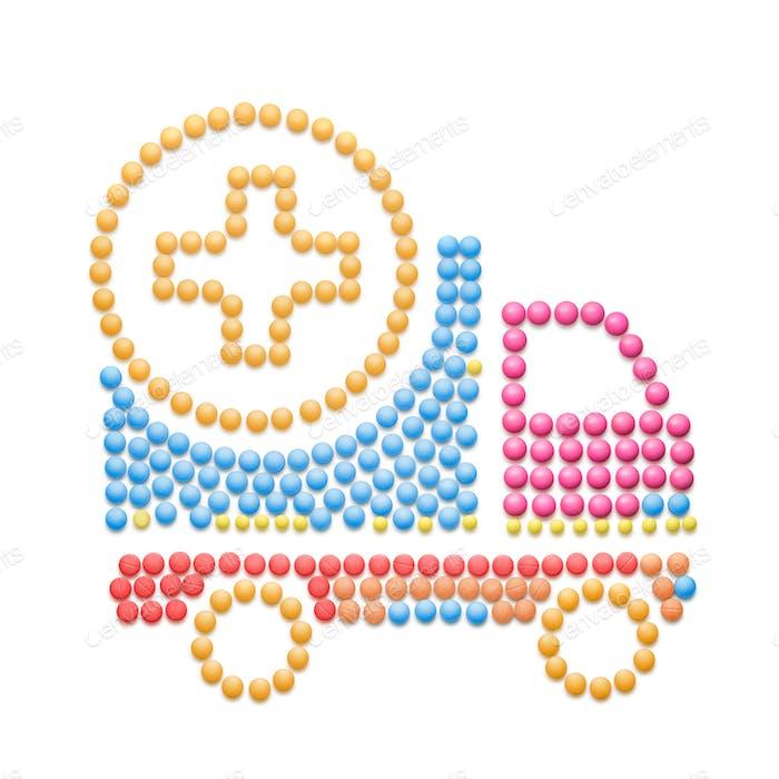 Medication delivery.