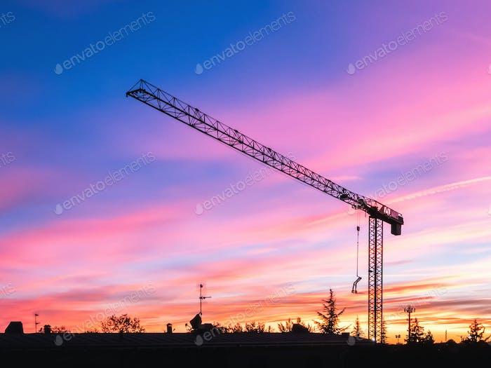Baustelle geschlossen für COVID-19