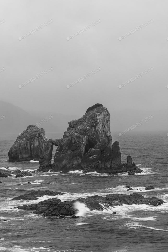 Dramatic Sea Landscape