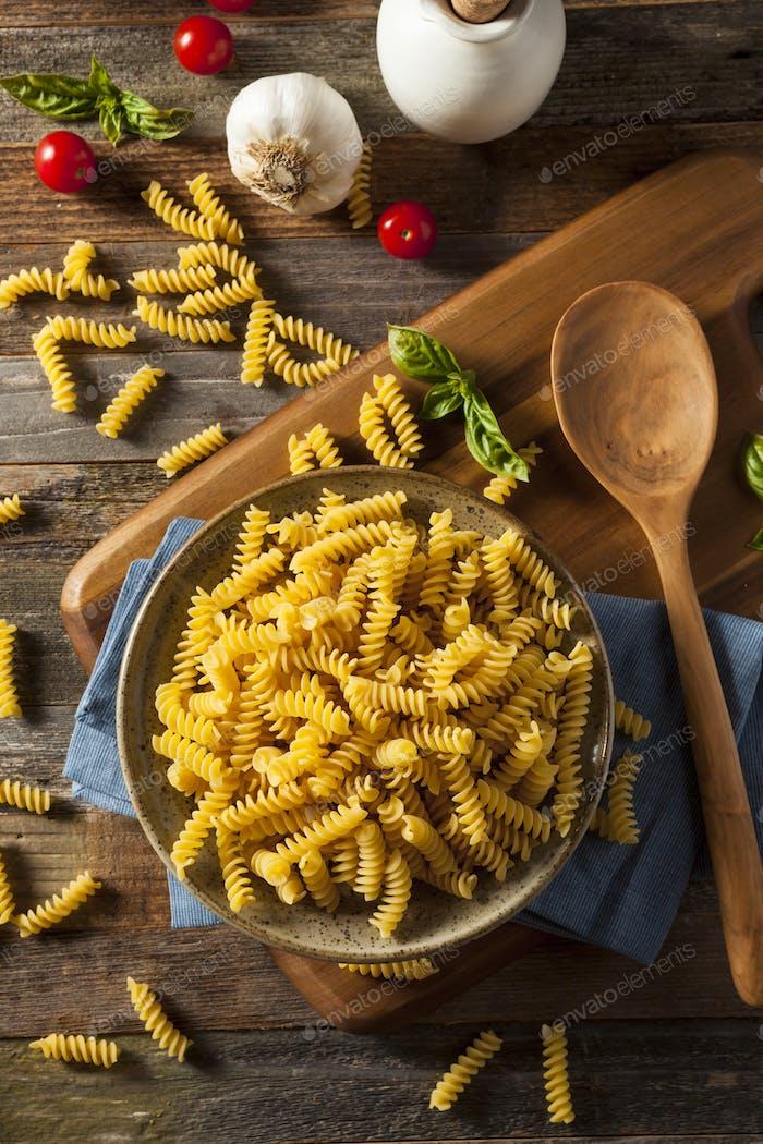 Raw Trocken Bio Fusilli Pasta