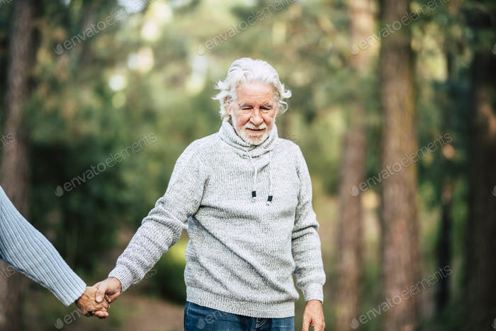 Assistance and disease alzheimer problems for senior people