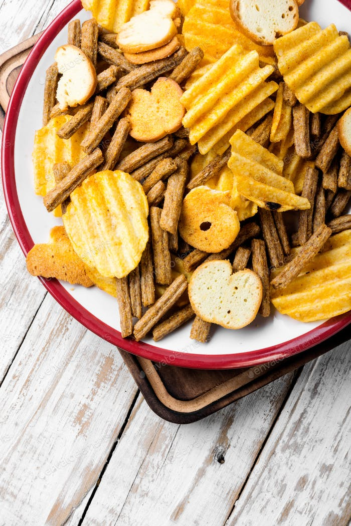 Salty snacks,potato chips