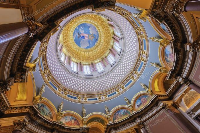 Iowa State Capitol Building Interior